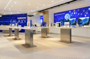 Samsung showroom