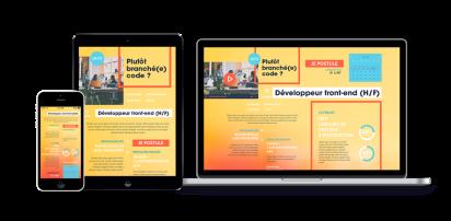 Partenaire, Consultant et Expert en recrutement e-Marketing pourHubistaff